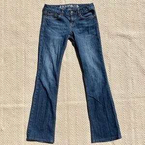 Express Bootcut Low Rise Jeans